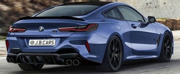 2020 Bmw M8 Coupe Rendered Looks Muscular Autoevolution