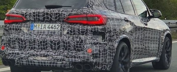 2020 Bmw X5 M Competition Spotted On Autobahn Gets Closer To