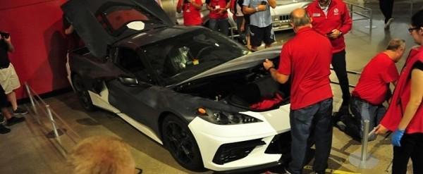 National Corvette Museum >> 2020 Chevrolet Corvette Stingray Prototype Gifted To
