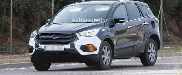 2020 Ford Escape / Kuga SUV Prototype Spied for the First Time - autoevolution