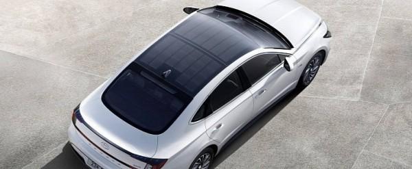 2020 Hyundai Sonata Hybrid Revealed With Solar Roof