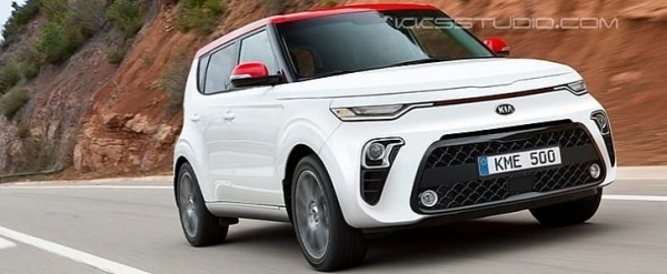 2020 Kia Soul Rendered, Looks Sharp Without Tiger-Nose Grille - autoevolution