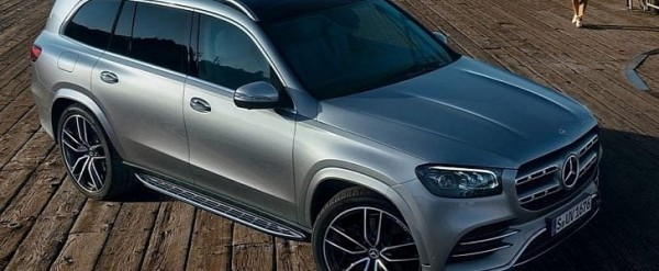 2020 Mercedes Gls Official Photos Leaked Ahead Of New York