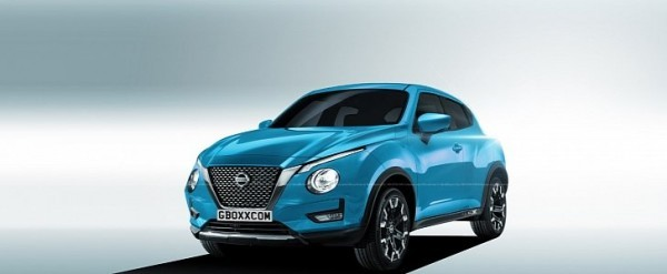 2020 Nissan Juke The Front Could Look Like This