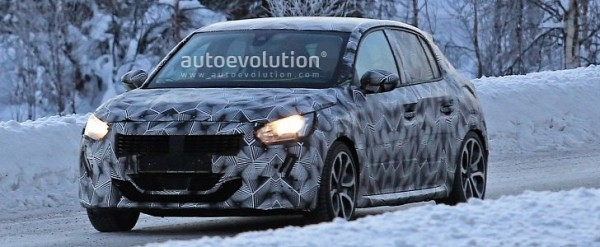 2020 Peugeot 208 Winter Spyshots Might Show Gt Or Gti Autoevolution