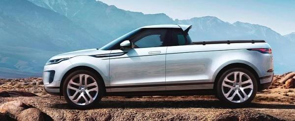 Range Rover Truck >> 2020 Range Rover Evoque Pickup Rendering Is A Mess