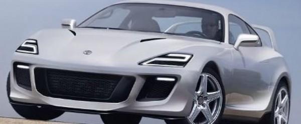 2020 Toyota Supra Retro