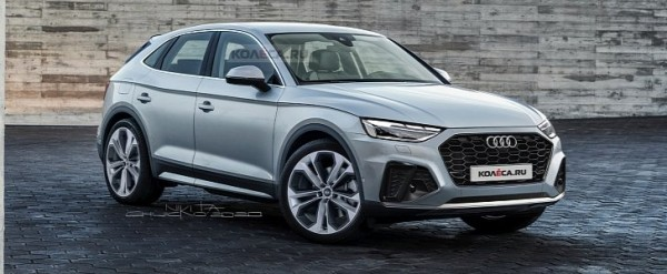 2021 audi q5 sportback accurately rendered with midlife