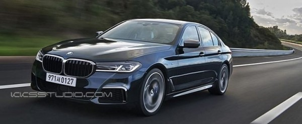 2021 Bmw 5 Series Facelift Shows Mild Changes In Latest Rendering