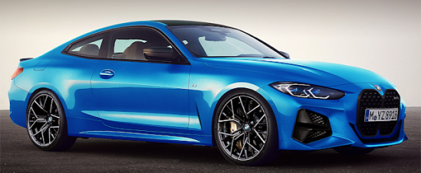2021 bmw m4 cgi looks sharp in blue could pack hybrid