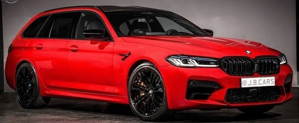 "2021 bmw m5 ""touring"" is the wagon bmw won't build"