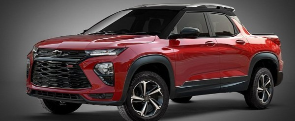 2021 Chevrolet Trailblazer Pickup Truck Is Nothing More ...