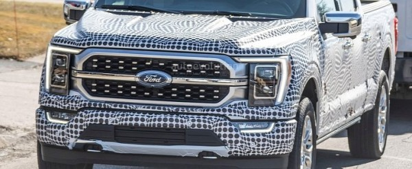 2021 Ford F-150 Spied With GMC, Ram Design Influences ...