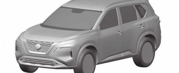 2021 Nissan Rogue Design Leaked Thanks to Patent Images ...