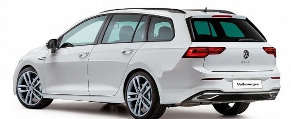 2021 volkswagen golf variant    sportwagen rendered  looks boring