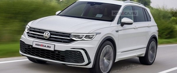 2021 Volkswagen Tiguan: Here's What It Could Look Like ...