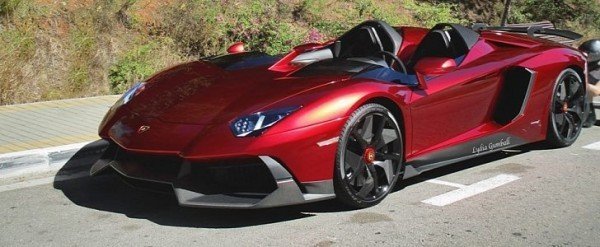 2 8 Million Lamborghini Aventador J One Off Spotted In Marbella