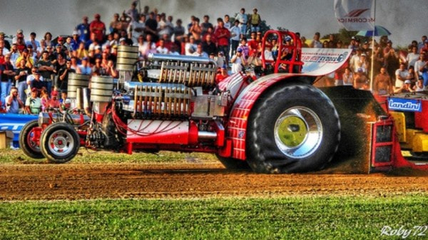 Tractor Pulling Train : Best tractor pulling videos autoevolution
