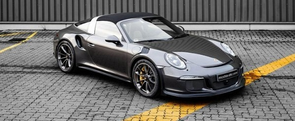 991 2 Porsche 911 Targa 4 Gts Gets The 991 1 Gt3 Rs Treatment From Mcchip Dkr Autoevolution