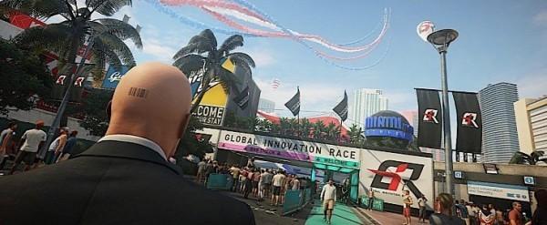 Agent 47 Sabotages Race Cars In Hitman 2 Trailer Autoevolution