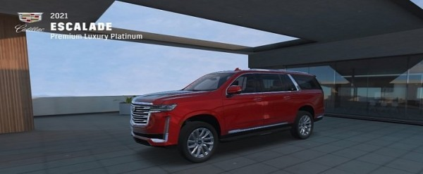 All-New 2021 Cadillac Escalade Gets 360-Degree ...