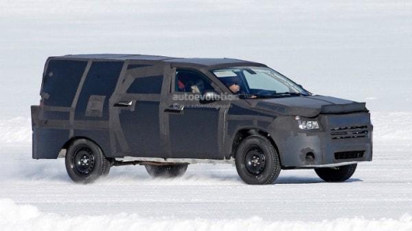 New Dodge Dakota >> All New Dodge Dakota Mid Size Ram Pickup Truck Spied