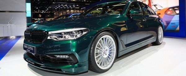 Alpina D S Allrad Looks Very Sexy Packs TriTurbo Diesel - Bmw 3 series turbo diesel