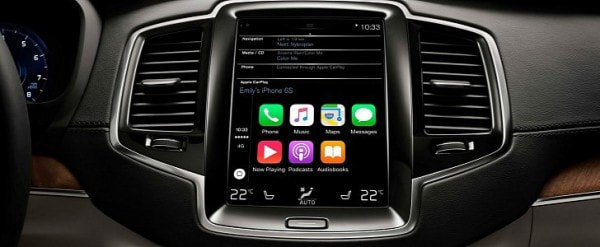 Le Carplay Now Available In Volvo Xc90 Can Also Be Retroed