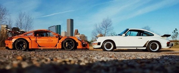 Artist Mixes Lego Posche 911 Gt3 Rs Real 911 In Amazing