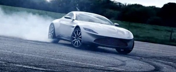 Aston Martin Db10 Does 007 Burnout In Dynamic James Bond