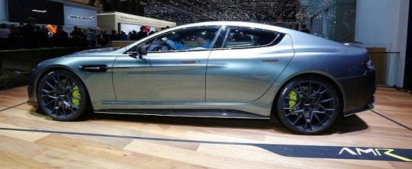 Aston Martin Takes Over Geneva With Worlds Fastest Sedan The