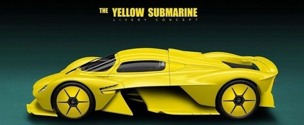 Aston Martin Valkyrie Yellow Submarine Is A Stunning Livery Autoevolution