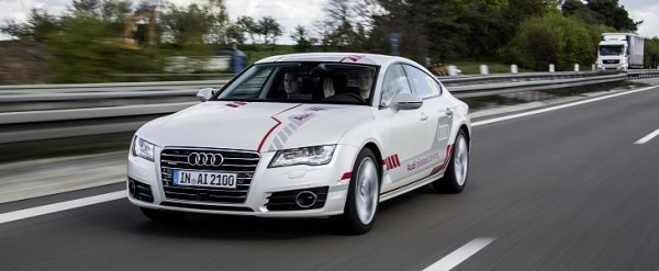 Audi Piloted Driving >> Audi A7 Becomes First Automated Vehicle To Drive In New York