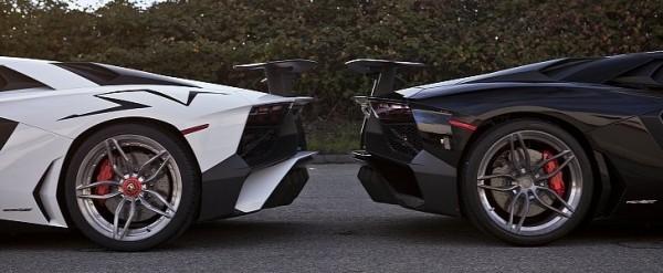 Back To Back Lamborghini Aventador Sv Twins Sport Pur Wheels