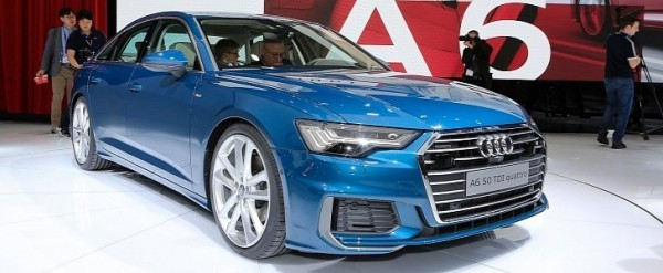 Blue Is The Right Color For 2019 Audi A6 In Geneva Autoevolution