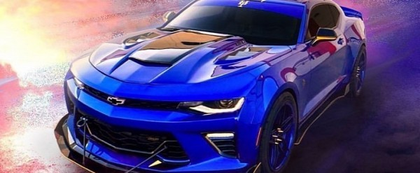 Blue Sonic The Hedgehog Camaro Ss Is A Collection Of Aftermarket Parts Autoevolution