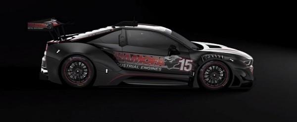 宝马i8 GTR剪影赛车放弃插入式动力传动系统V8动力