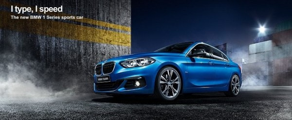 Bmw Prices China Bound 1 Series Sedan F52 From 204 800 Yuan
