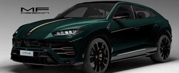 British Racing Green Lamborghini Urus Rendered As Gentleman Racer