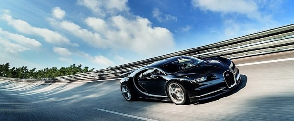 Bugatti Chiron's True Top Speed Limited by Current Tire Technology ...