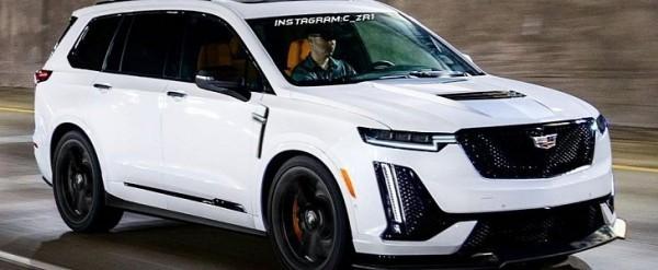 Cadillac Xt6 V Rendered V8 Super Suv Looks Deceiving Autoevolution