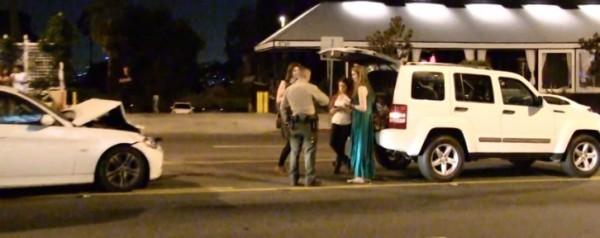 Californication Star Madeline Zina Crashes Her Bmw E90