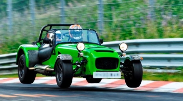 Caterham 620R Development Car Laps the Nurburgring - autoevolution