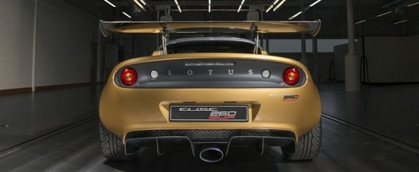 Championship Gold Painted 2018 Lotus Elise Cup 260 Limited