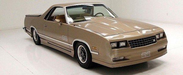 Cheap Choo Choo 1985 Chevrolet El Camino Ss Gives Us Mixed Feelings Autoevolution