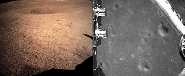 Chinese Rover Lands On Dark Side Of The Moon First Photos
