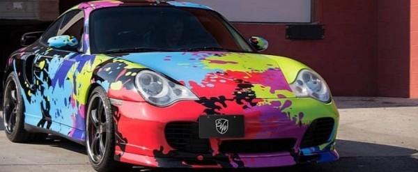 Color Splash Porsche 911 Turbo Is A Freaky 996 Autoevolution