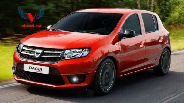 dacia sandero rendered as a hot hatchback looks cool autoevolution. Black Bedroom Furniture Sets. Home Design Ideas