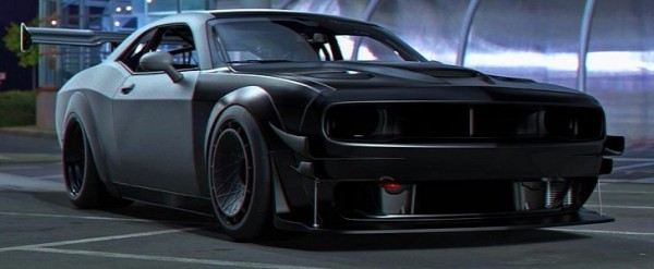 Dodge Challenger Hellcat Skull Face Is A Track Day Hero