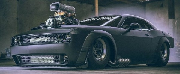 Dodge Demon Quot Gasser Quot Is Fast And Furious V8 Penetrates